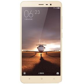 小米 红米note3 标准版 金色 16G 全网通4G手机 双卡双待