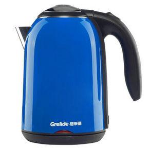 Grelide 格来德 不锈钢双层防烫电热水壶 1.5L 49元