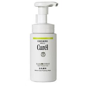 Curel 珂润 控油保湿洁面泡沫洗面奶 150ml 66.7元(59+7.7)