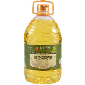 恒大兴安 绿色菜籽油 4L 54.9元