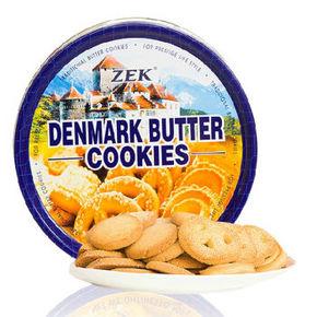ZEK 丹麦风味黄油曲奇饼干 368g 折9.8元(19.8,99-50)