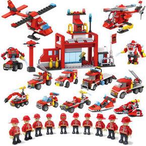 COGO 积高 儿童塑料拼装玩具 全套8盒装  59元包邮