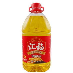 hopefull 汇福 大豆花生芝麻调和油 5L 39.9元