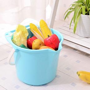 家用加厚手提塑料桶 小号 9.9元包邮