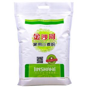 金沙河 家用小麦粉 馒头粉饺子粉  5kg  19.9元