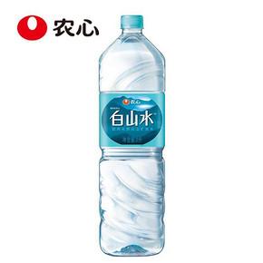 农心 白山水 天然火山矿泉水纯净饮用水 2L 0.01元