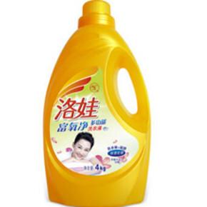 洛娃 多功能洗衣液 4kg 折合17.9元(35.9,买2免1)