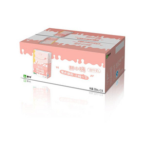 蒙牛 甜小嗨 甜牛奶 女版 250ml*12盒 折25.5元(51*2-51)