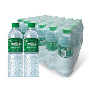 达利园 饮用纯净水 550ml*24瓶 15.9元