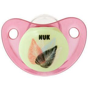 NUK 夜光型硅胶安抚奶嘴 一般型 2件 29元(买2免1)