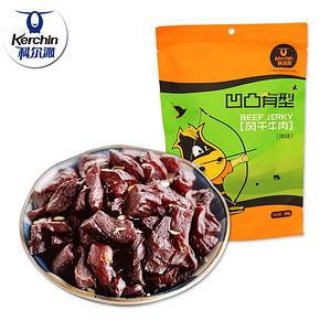 科尔沁 内蒙古特产 风干牛肉干辣味 200g 折19.9元(39.9,5件5折)