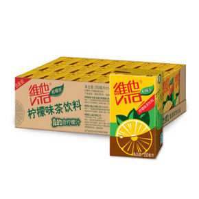 维他 柠檬茶250ml*24盒 50.9元