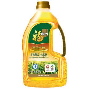 福临门 黄金产地 玉米油 1.8L  22.9元