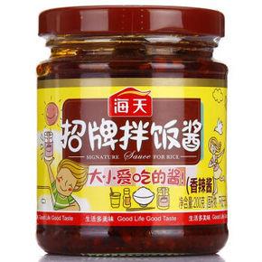 海天 招牌拌饭酱 200g 8.1元