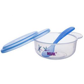 NUK 宝宝碗勺餐具套 蓝色 29.9元