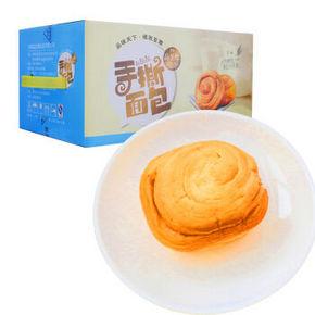 品至尊 早餐糕点 手撕面包 1000g 折15元 (19.9,99-40)
