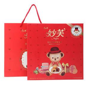 法式妙芙 泰迪小熊礼盒 450g 26.6元