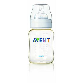 新安怡 自然原生PES宽口奶瓶 260ml +2孔硅胶奶嘴 折41元(49,2件5折)