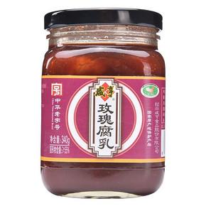 咸亨 玫瑰腐乳 340g 5.2元