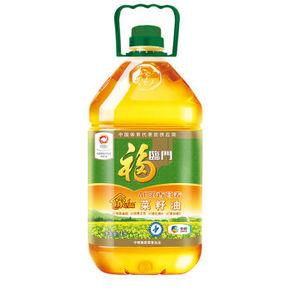 福临门 家香味AE浓香营养菜籽油 4L 39.9元