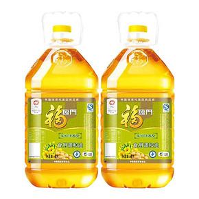 福临门 食用调和油 菜籽清香型 4L*2瓶 59.9元包邮