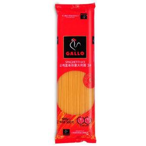 GALLO公鸡直条形意大利面 3# 500g 9.9元