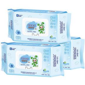 宝宝金水 倍柔护肤 婴儿手口湿巾 90片*3包 19.9元