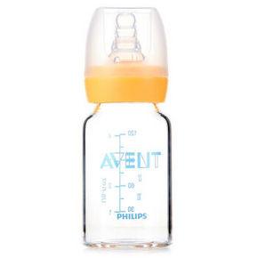 飞利浦 新安怡 SCF993 标准口径玻璃奶瓶 120ml*5件 99.5元(199.5-100券)