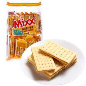 MIXX 夹心苏打饼干 咸芝士味 380g 9.9元