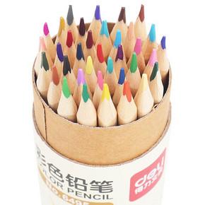 得力 儿童彩色原木铅笔 12色 3.6元包邮