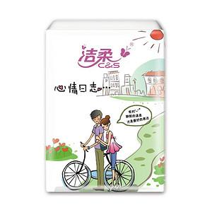 洁柔 青春校园系列可湿水面纸 3层*24包装 折6.5元(12.9,买2付1)
