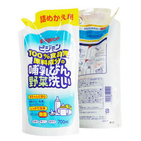 Pigeon 贝亲 奶瓶食器疏菜清洗剤 700ml 折35.6元(199-100)