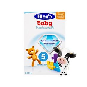 Hero Baby 荷兰 天赋力 婴儿配方奶粉 5段 700g 折73.3元(3件95折)