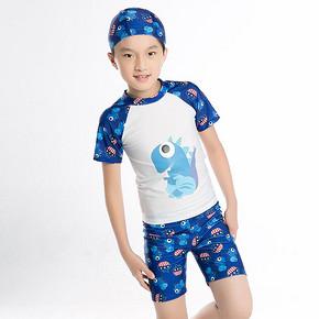 亦浪 儿童分体泳衣泳裤泳帽套装 券后28元包邮