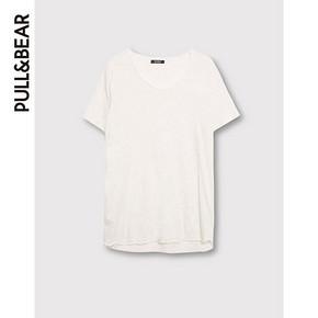 PullAndBear 男士基本款短袖T恤 18元包邮