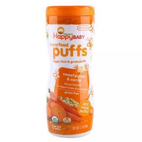 美国进口 禧贝 甜薯泡芙 60g 11.8元(9.9+1.9)
