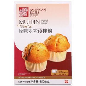 美玫 原味麦芬预拌粉 350g 折7.9元(9.9,2件8折)