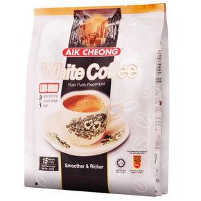 马来西亚进口 益昌 白咖啡3合1 600g 28元