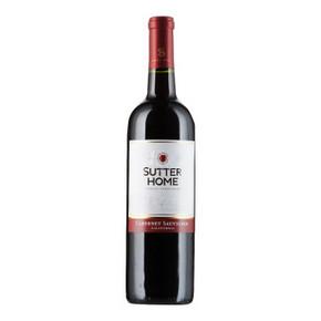 舒特家族 赤霞珠 干红葡萄酒 750ml 折15元(29.8,买1送1)