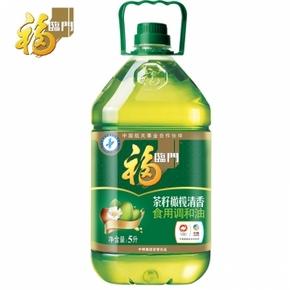 福临门 茶籽橄榄调和油 5L 59.9元包邮