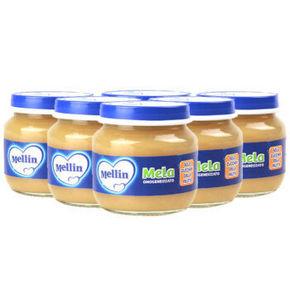 Mellin 美林 苹果泥 100g*6罐 34.1元(29.9+4.2)
