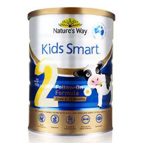 Nature's way 佳思敏 婴幼儿配方奶粉 2段 900g 33.5元包邮(29.9+3.6)
