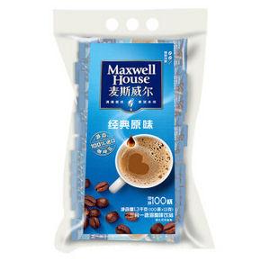 麦斯威尔 原味速溶咖啡 13g*100条 69.9元