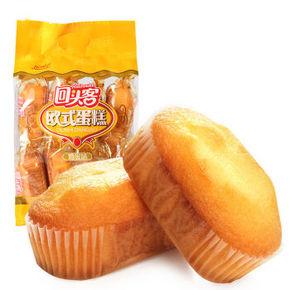 回头客 欧式蛋糕鸡蛋味 225g 折3.4元(可199-100)