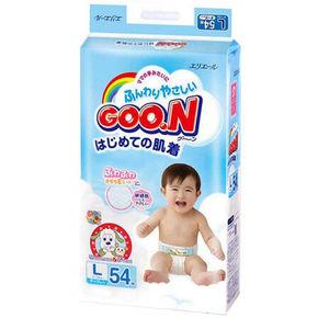 大王 GOO.N 维E系列 婴儿纸尿裤 L54片*2件 157.1元包邮(156-15.6+16.7)