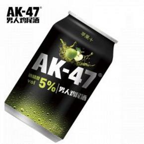 AK47 男人鸡尾酒 苹果味 330ml*2罐 3.8元(13.8-10券)