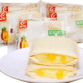 友臣 果粒吐司 口袋面包零食 菠萝味 500g 19.9元