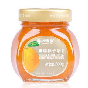 蜜柚相恋# 恒寿堂 蜂蜜柚子茶 300g 6.9元