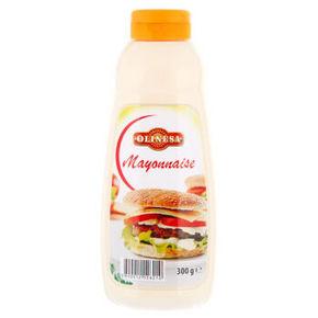 保加利亚进口 欧利美食 蛋黄酱 300g 19.9元
