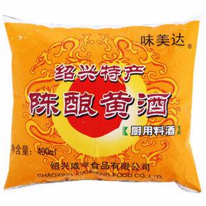 味美达 陈酿黄酒 厨用料酒 400ml 2.9元